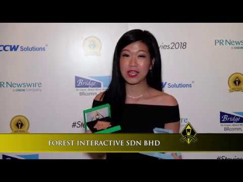 FOREST INTERACTIVE SDN BHD wins in the 2018 Asia-Pacific Stevie® Awards