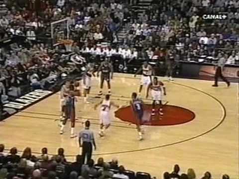 Portland Trail Blazers Vs Houston Rockets (1999)