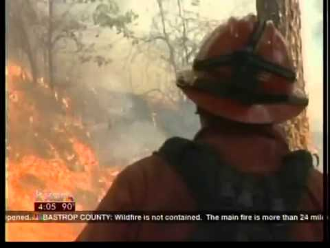 Video From Inside The Bastrop Fire