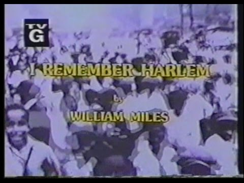 I Remember Harlem- Full Documentary/Movie