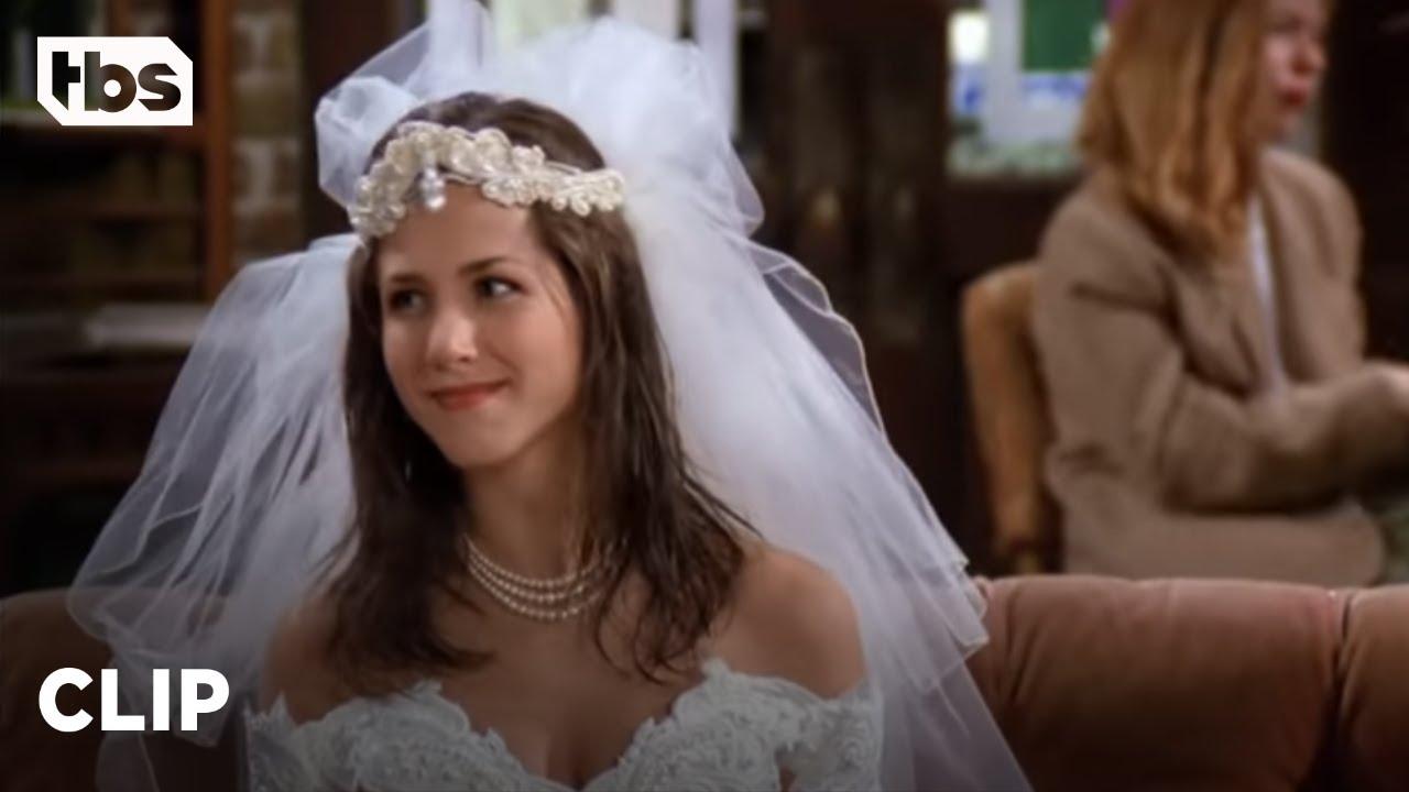 Friends Rachel Runs Out on her Wedding to Barry Season 20 Clip   TBS