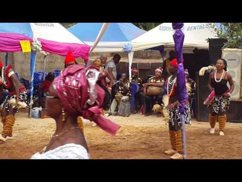 Traditional dance at Umueze Isuofia Anambra State Nigeria