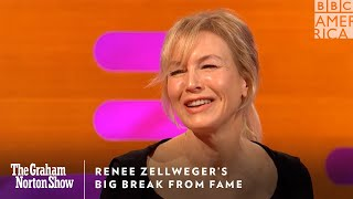 Renee Zellweger's Big Break From Fame | The Graham Norton Show | Friday at 11pm | BBC America