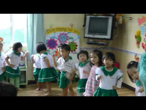 Mầm 4 Ồ sao bé không lắc trường mầm non Hạnh Phúc quận Thủ Đức