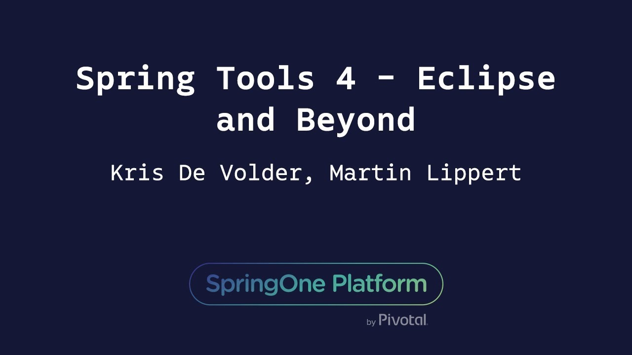 Spring Tool Suite 3 9 3 - New and Noteworthy