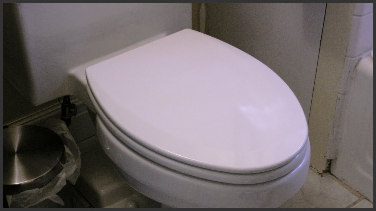 Elongated Toilet Seat Replacement Youtube