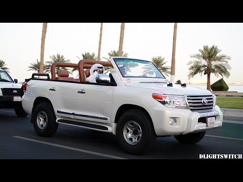 Weird, Wonderful & Colourful Cars on the Corniche in Ramadan 2015