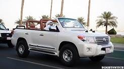 Most Expensive Custom Cars on the Qatar Corniche in Ramadan