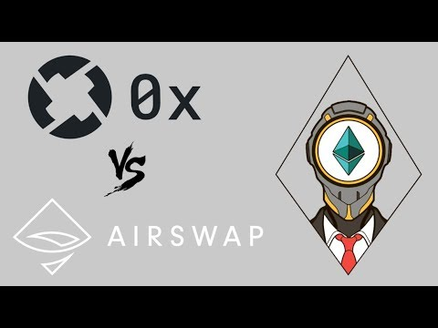 0x Project vs AIRSWAP comparison ( ZRX tokens vs AST tokens )