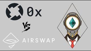 0x Project vs AIRSWAP comparison ( ZRX tokens vs AST tokens )