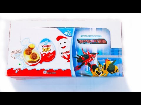 New Transformers kinder joy surprise eggs