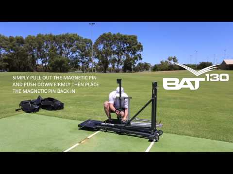 How To Assemble Your BAT130 Cricket Bowling Machine In 4 Minutes
