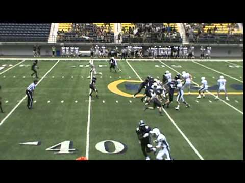 Solomons Enis  2nd interception vs Greenway