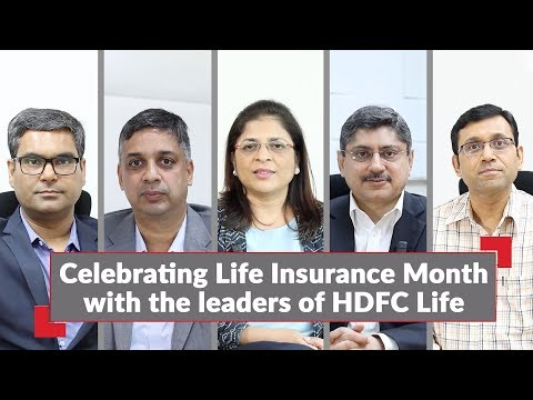 Celebrating Life Insurance Month with the leaders of HDFC Life