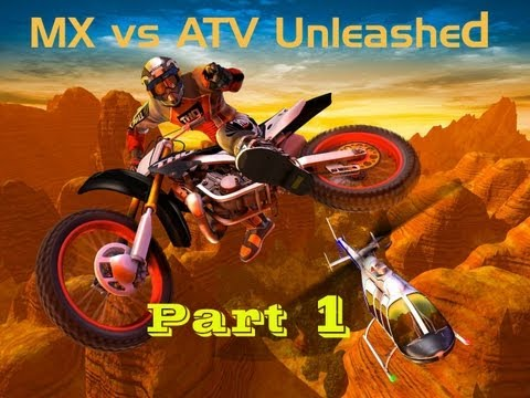 MX vs ATV Unleashed |DEMO| (Part 1) - แม่งฮาสาส 555