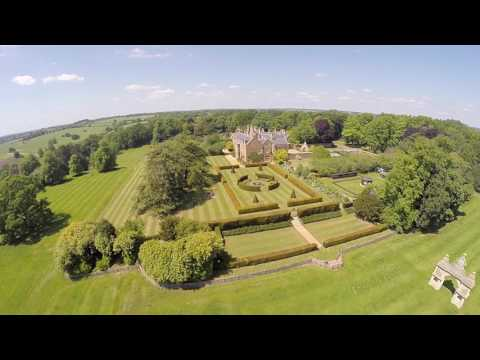 Drone footage of Northamptonshire stately homes