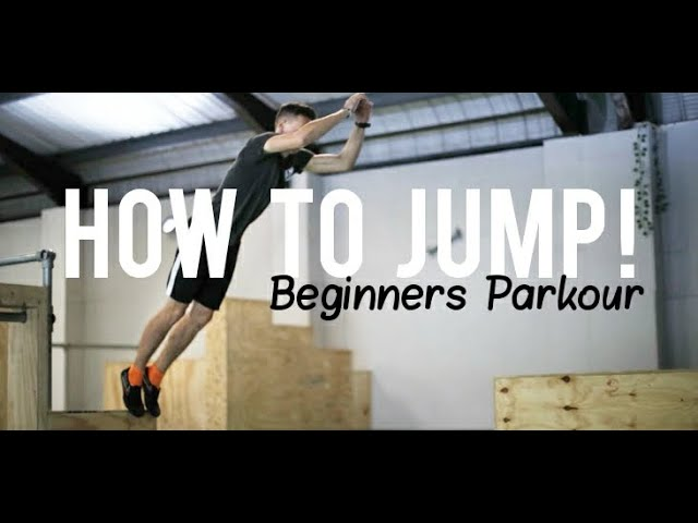 Beginners  Parkour - How to Jump and Land #1