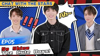 【FULL】Chat With Stars EP05   正经聊天室   Youth With You screenshot 2