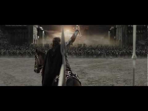 (HD) Discours Aragorn, Le seigneur des anneaux, Le retour du roi. poster