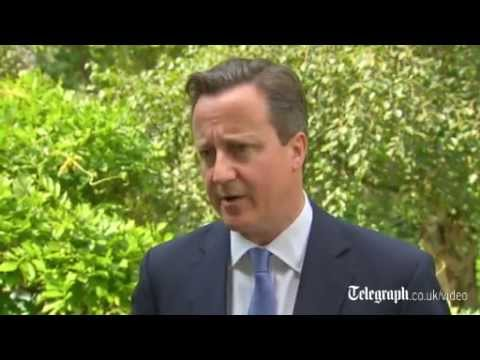 MH17 plane crash: David Cameron says perpetrators should be 'held to account'