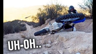 NEW RIDERS ATTEMPT EXTREME HILL CLIMB