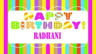Radhani   Wishes & Mensajes Happy Birthday