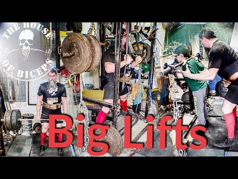 BIG LIFTS: Father, Son, Training Partners!