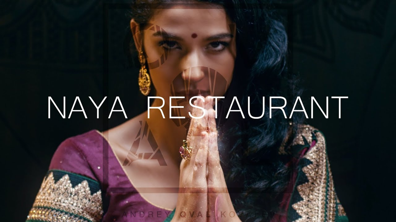 Naya - Indian restaurant advertisement