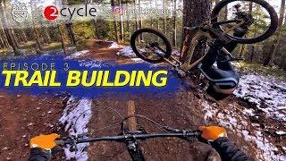 "TRAIL BUILDING ""BIG BERMS"" | EPISODE 3 with Noah & Paul - eng sub"