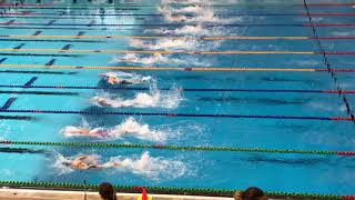 NZ Secondary School Champs - Lane 3: 50m Free (Silver)