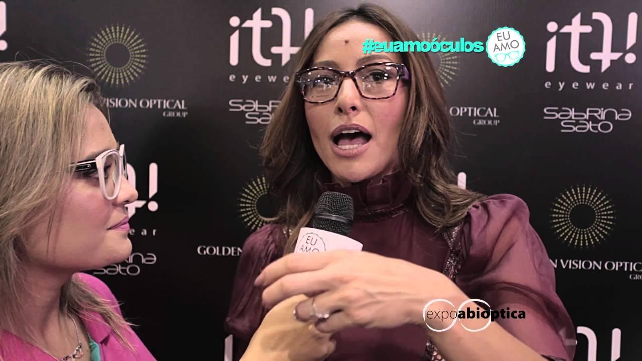 79152d05b93c6 Sabrina Sato na ExpoAbióptica 2016  euamooculos - YouTube