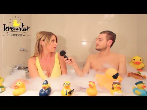 Emilie (Secret Story 9) dans le bain de Jeremstar - INTERVIEW