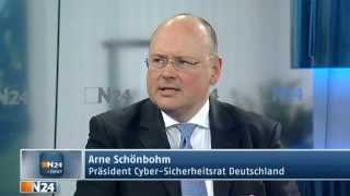 Arne Schönbohm bei N24 (07.04.2014):