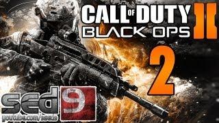 Let's Play Black Ops 2 #2 - Войны будущего, новый сеттинг, хорошо