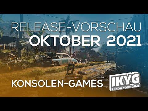 Games-Release-Vorschau - Oktober 2021 - Konsole