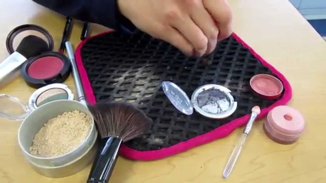 Contain Messy Makeup With The Makeup Mat Youtube