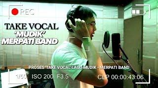 PROSES REKORDING TAKE VOCAL LAGU 'MUDIK' - MERPATI BAND DI STUDIO NAGASWARA