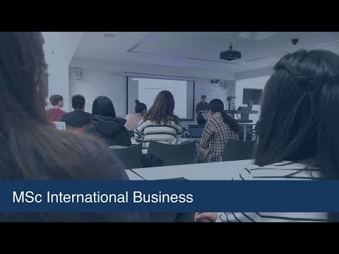 MSc in International Business