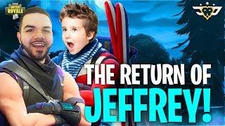 THE RETURN OF JEFFREY!!! - Coolest Kid Ever! (Fortnite: Battle Royale)