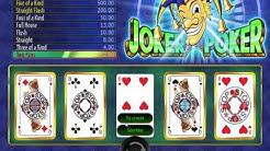 Joker Poker - Wazdan Spielautomat Kostenlos Spiele und Gewinn