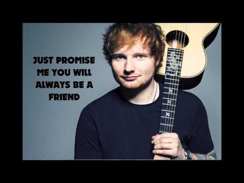 Ed Sheeran - One (lyrics)