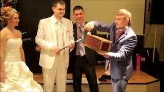 Фокусник  иллюзионист на свадьбе Барнаул