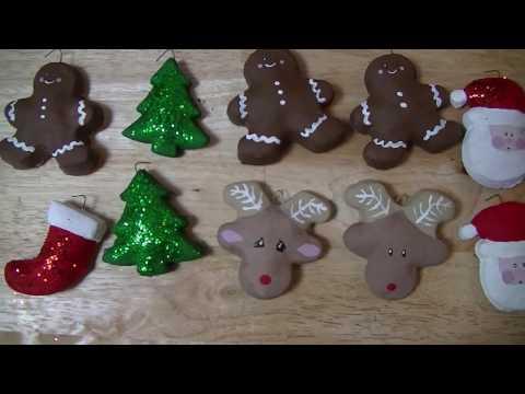 Salt Dough Ornaments DIY - vlogmas