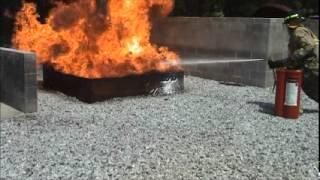 Enforcer 3 Heptane Fire