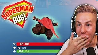 With this SIMPLE BUG you can play in FORTNITE SUPERMAN!