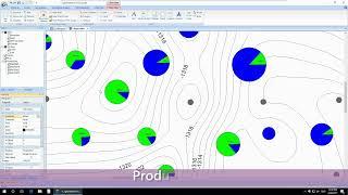 GES Software - Production Map & Production Curve