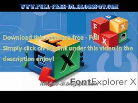 Linotype FontExplorer X Pro 3.0 MAC New
