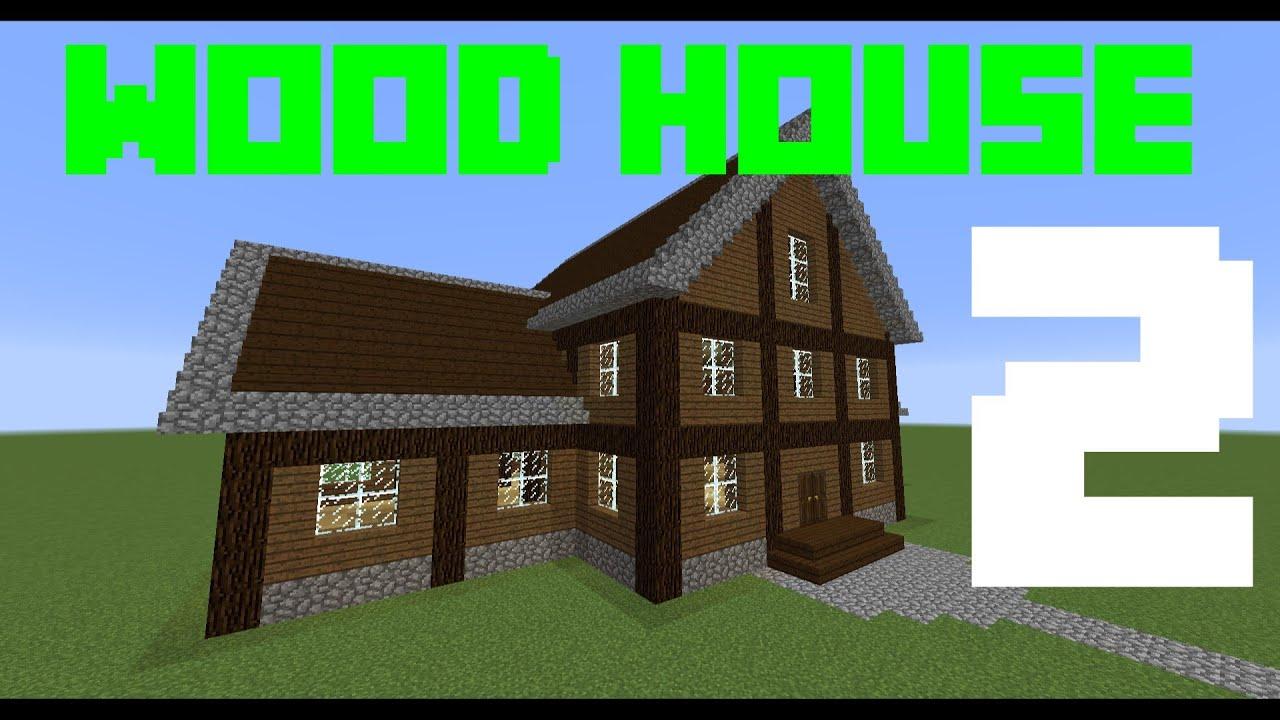 Minecraft tutorial come costruire una casa di legno for Come costruisco una casa
