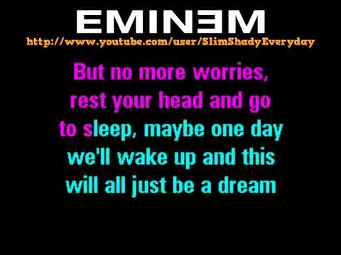 [HD] Eminem - Mockingbird Karaoke