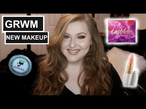 GET READY WITH ME + NEW MAKEUP | ENDICOTTMUA